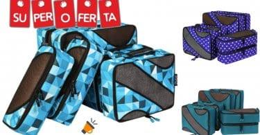 OFERTA Pack de 6 bolsas de equipaje Eono Essential BARATO SuperChollos