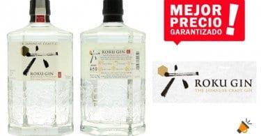 oferta Ginebra premium Suntory Roku Gin barata SuperChollos