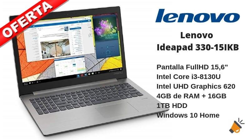 oferta Lenovo Ideapad 330 15IKB barato SuperChollos