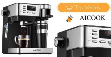 oferta Cafetera Multifuncion Aicook 3 en 1 barata SuperChollos