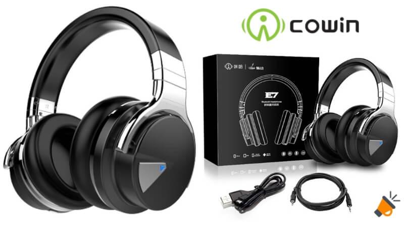 oferta COWIN E7 Active auriculares bluetooth baratos SuperChollos