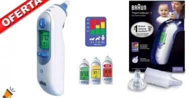 oferta Braun Thermoscan 7 Termo%CC%81metro Digital barato SuperChollos