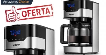 oferta Aicook Cafetera Cafetera de Goteo barata SuperChollos
