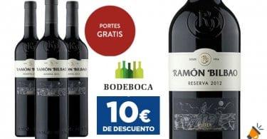 oferta %C2%A1Oferto%CC%81n Pack de vino Ramo%CC%81n Bilbao con 10%E2%82%AC dto. barato SuperChollos