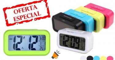 oferta Reloj Despertador Digital barato SuperChollos