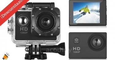 oferta Mini DV 1080P HD camara de accion barata SuperChollos