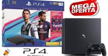 oferta PlayStation 4 1TB Fifa 19 barata SuperChollos