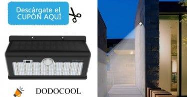 oferta dodocool La%CC%81mpara Solar con Sensor de Movimiento barata SuperChollos