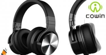 oferta auriculares inalambricos bluetooth cowin e7 pro baratos SuperChollos