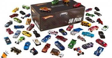 oferta Hot Wheels Pack 50 Vehi%CC%81culos barato SuperChollos