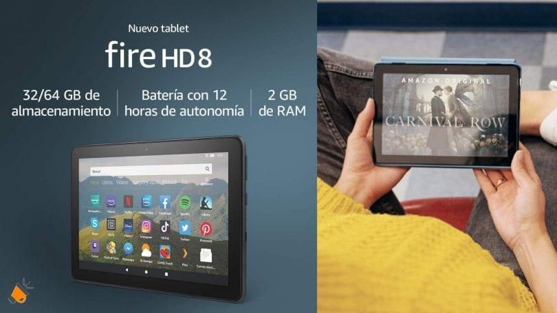 oferta Fire HD 2020 barata SuperChollos