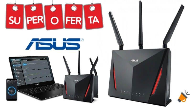 oferta ASUS RT AC86U Router Gaming barato SuperChollos