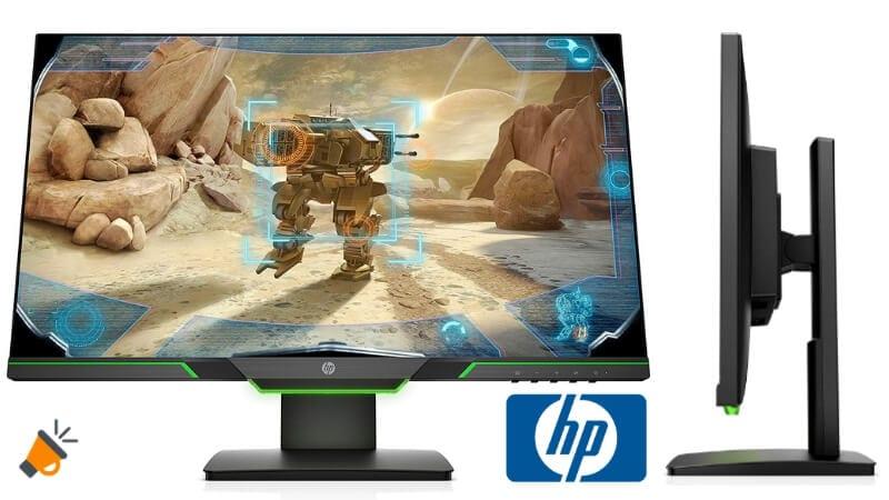 oferta HP 25x Monitor gaming barato SuperChollos