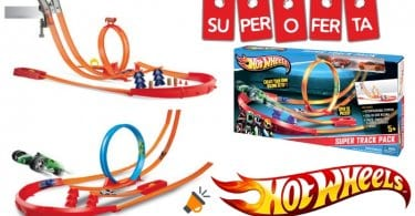 oferta Hot Wheels Superpack construye tu pista barato SuperChollos