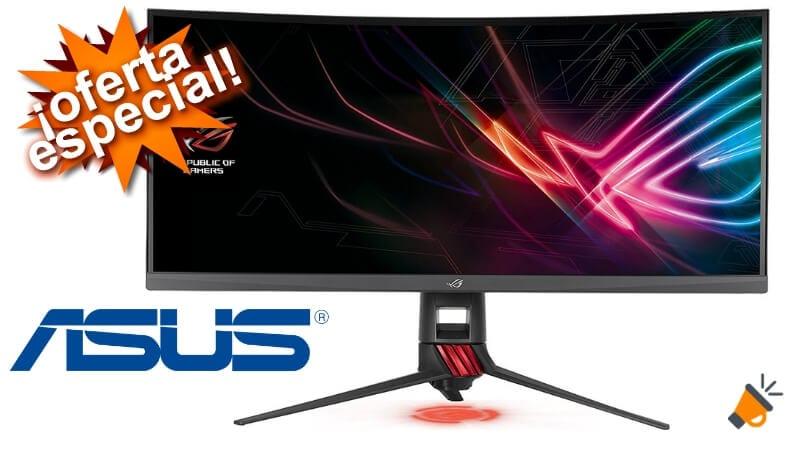 oferta ASUS ROG Strix XG35VQ monitor barato SuperChollos