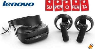 oferta Lenovo Explorer Gafas de Realidad Virtual baratas SuperChollos