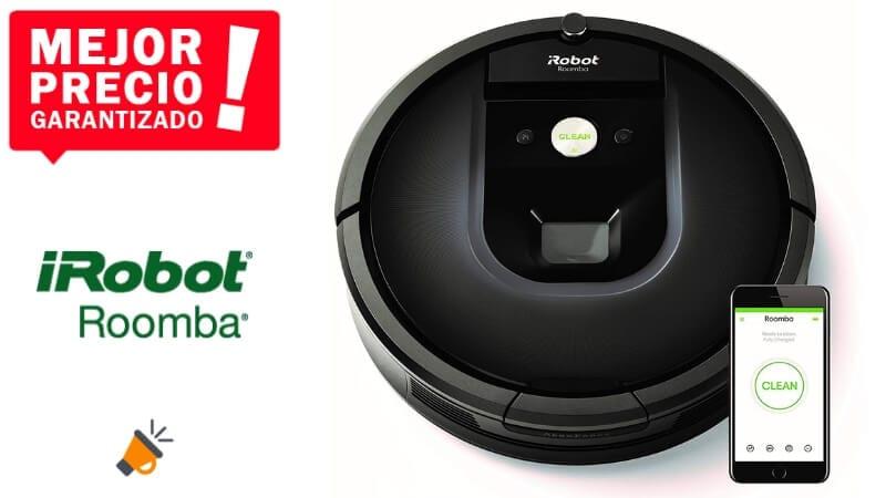 oferta iRobot Roomba 981 robots aspirador barato SuperChollos