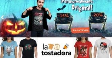 camisetas halloween baratas la tostadora SuperChollos