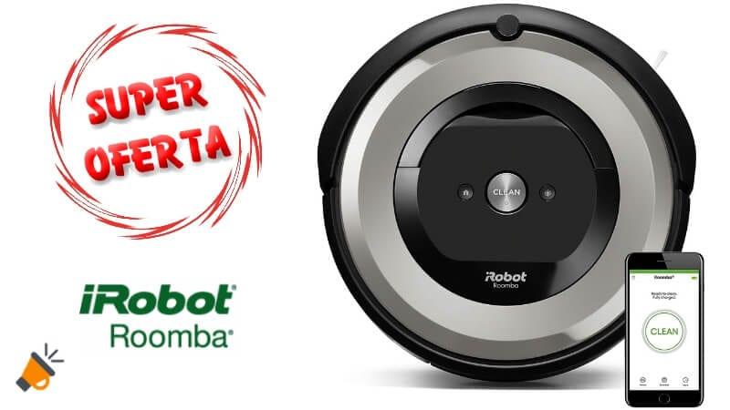 oferta iRobot Roomba e5154 Robot aspirador barato SuperChollos