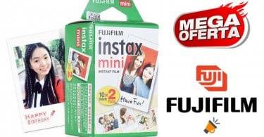 oferta Fujifilm Instax Mini papel fotografico barato SuperChollos