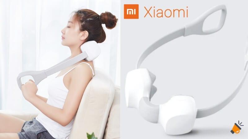 oferta Xiaomi M1 2 way masajeador de cuello barato SuperChollos
