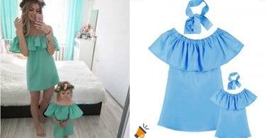 oferta Vestidos a juego para madre e hija baratos SuperChollos