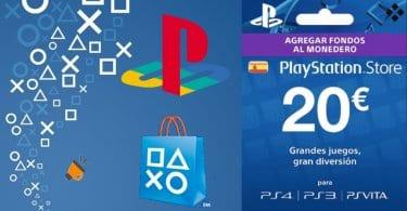 Tarjeta prepago PlayStation PSN Store barata SuperChollos