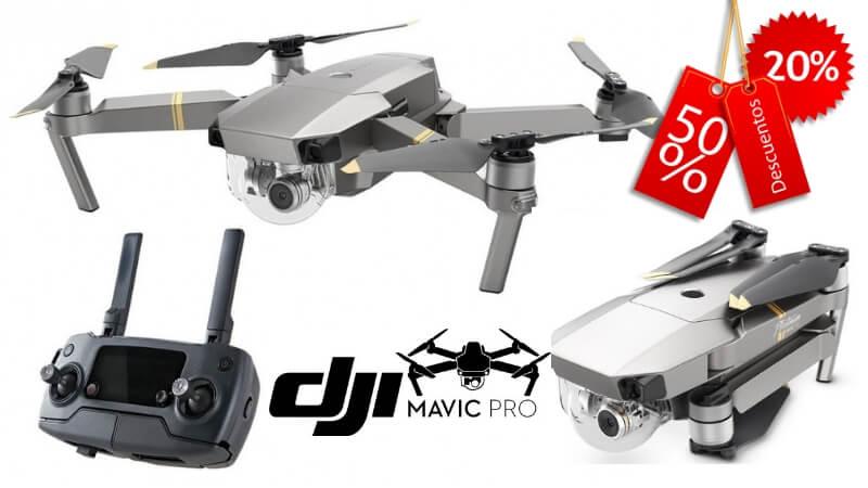 oferta DJI Mavic Pro Platinum drone barato SuperChollos