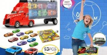 oferta camion transportador barato SuperChollos