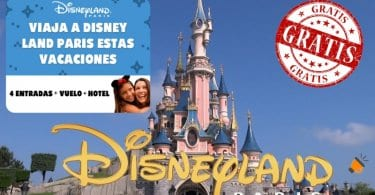 Viaja GRATIS a Disneyland Paris SuperChollos