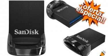 oferta Memoria Flash USB 3.1 SanDisk Ultra Fif barata SuperChollos