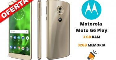oferta Motorola Moto G6 Play barato SuperChollos