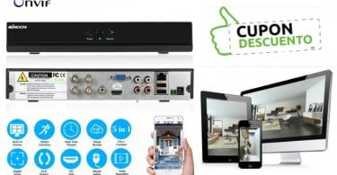 oferta Grabador de vi%CC%81deo kkmoon barato SuperChollos