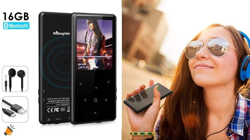 oferta Reproductor de MP3 Mbuynow 16GB barato SuperChollos