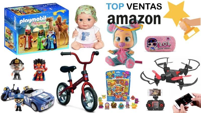 oferta top ventas juguetes amazon SuperChollos