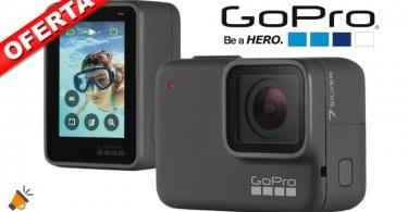 oferta GoPro HERO7 Silver Ca%CC%81mara de accio%CC%81n barata SuperChollos