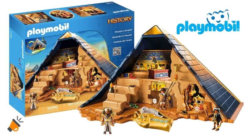 oferta Playmobil Pira%CC%81mide del Farao%CC%81n barata SuperChollos