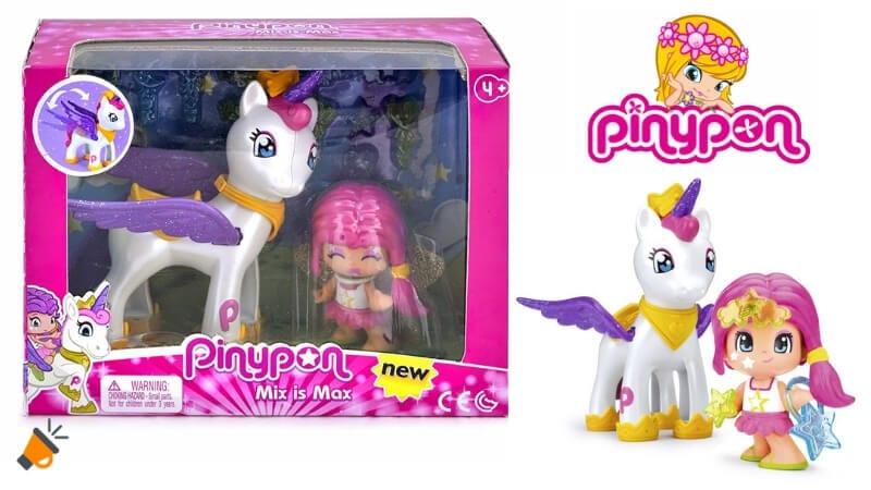 oferta Pinypon Estrella y Unicornio Volador barato SuperChollos