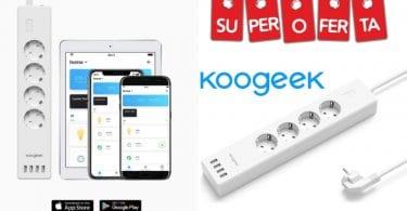 oferta Regleta WiFi inteligente de 4 enchufes barata SuperChollos