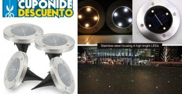 oferta Kit de 4 focos LED Tomshine baratos SuperChollos