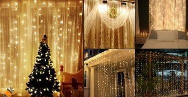 oferta Cortina de luces LED barata SuperChollos