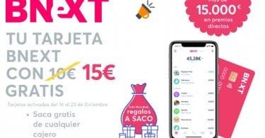 promocion bnext 15 euros SuperChollos