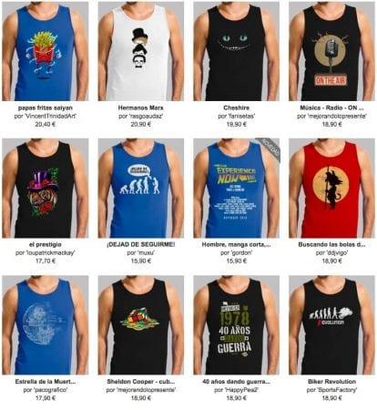 camisetas sin mangas SuperChollos