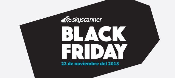 Skyscanner Black Friday 2018 vuelos baratos SuperChollos
