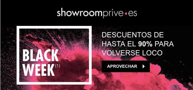ShowRoomPrivee Black Week ofertas SuperChollos