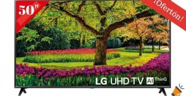 oferta Smart TV LG 50UK6300 BARATA SuperChollos