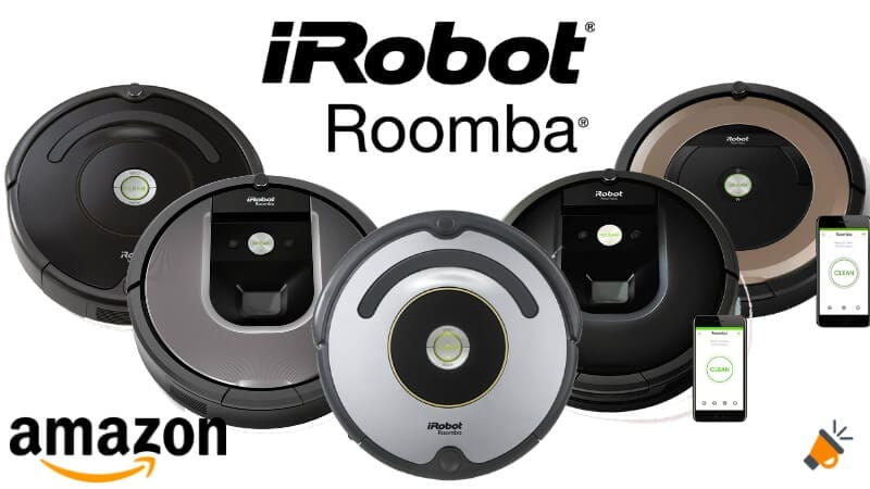 ofertas robots aspiradores Roomba baratos SuperChollos