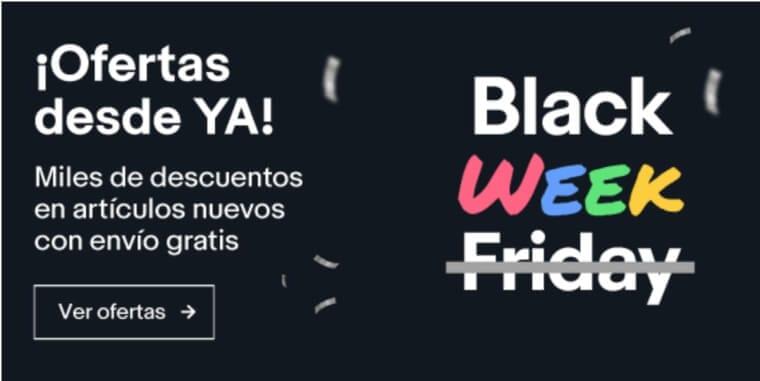 ebay black friday 2019 ofertas chollos descuentos superchollos SuperChollos