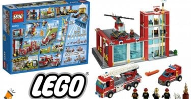 oferta LEGO City Estacio%CC%81n de Bomberos barata SuperChollos