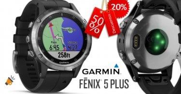 oferta Garmin Fenix 5 Plus reloj deportivo barato SuperChollos